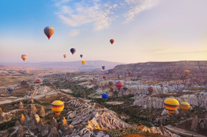 La Cappadoce : en route pour les terres volcaniques turques