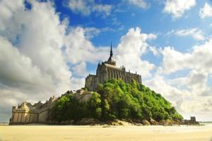 Mont Saint-Michel: La pyramide des mers