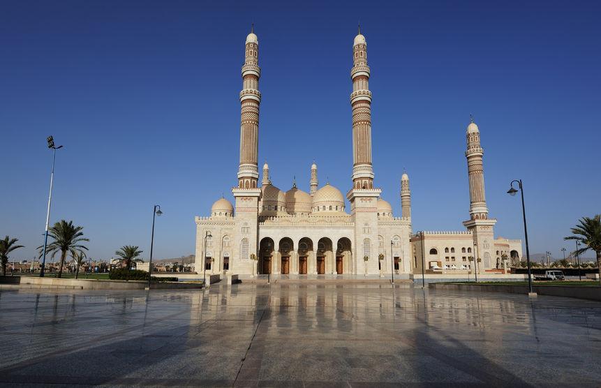 Mosqu e al saleh y men l architecture islamique moderne for Architecture islamique moderne