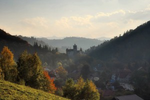 Le Château de Bran : alias le château de Dracula