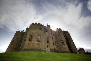 Le château d'Alnwick : la forteresse de Poudlard