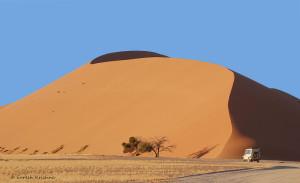 Le chemin des dunes : de majestueuses montagnes rouges