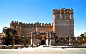 Château de Coca : Forteresse imprenable espagnole