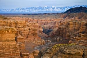 Canyon de Charyn : l'immense faille exposée au vent des steppes