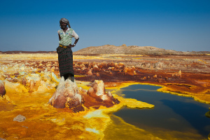 Dallol : Le volcan aux mille couleurs