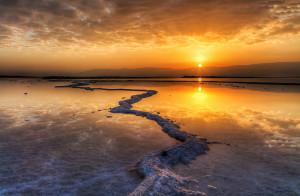 La mer morte : le lac salé aux vertus magiques