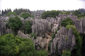 Le karst de Shilin : la forêt de pierres mystique