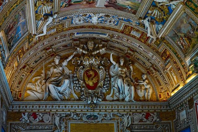 La chapelle sixtine son plafond chef d uvre de michel ange - Michel ange chapelle sixtine plafond ...