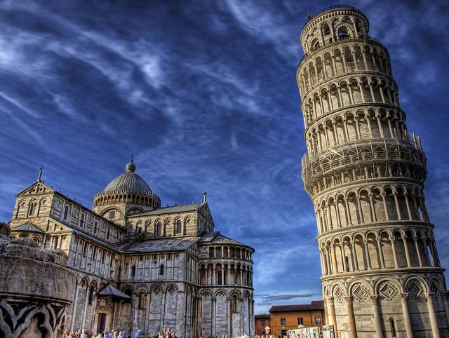 La tour de pise italie hauteur histoire pr sentation et photos - Inclinaison de la tour de pise ...