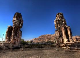 Colosses de Memnon : à la découverte des statues Goliath
