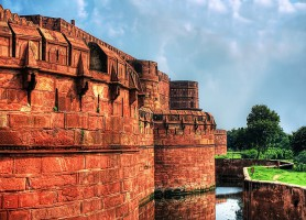 Fort rouge d'Agra : la somptueuse résidence des souverains