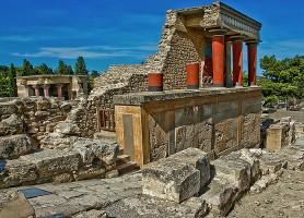 Palais de Cnossos: le célèbre site archéologique crétois