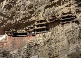 Monastère de Xuankong : le temple suspendu depuis 1400 ans