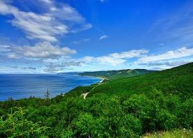 Piste Cabot : 300 km le long des rivages de Cap-Breton