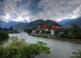 Dzong de Punakha : un monument debout depuis 350 ans
