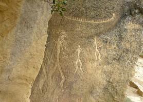 Réserve de Gobustan : site aux peintures rupestres de 40 000 ans