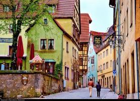 Rothenburg ob der Tauber: la petite ville médiévale