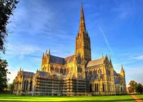 Cathédrale de Salisbury : monument historique médiéval