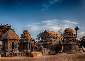 Temples de Mahabalipuram : la prestigieuse cité balnéaire antique