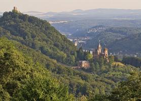 Vallée du Haut-Rhin moyen: un lieu prisé des touristes