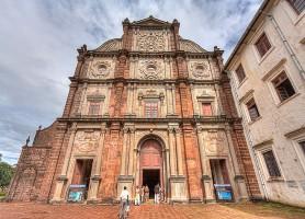 Vieille Goa: une vieille ville avec des sites neufs