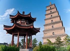 La pagode de l'oie sauvage : un lieu saint bouddhiste