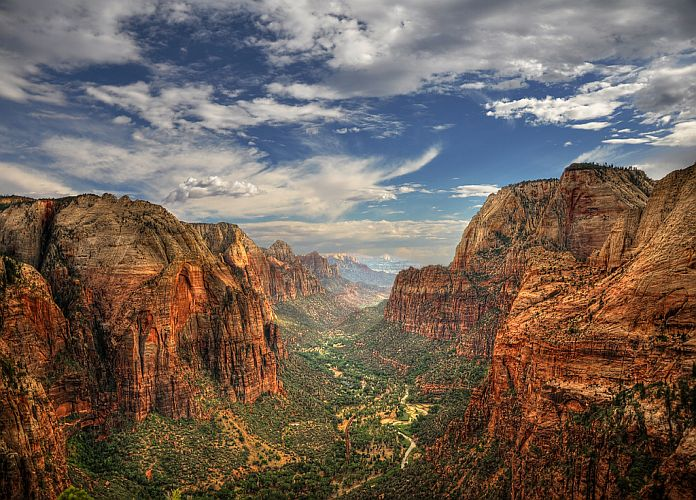 Zion National Park Utah Un Tr 233 Sor Naturel Des Usa