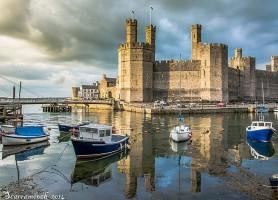 Château de Caernarfon: une richesse galloise