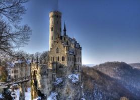 Château de Lichtenstein : comme dans un conte de fées