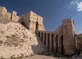 Citadelle d'Alep: un symbole de la vieille ville d'Alep