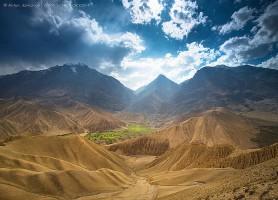 Haut Mustang: une cité ouverte aux touristes