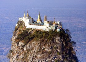 Mont Popa : un merveilleux site panoramique