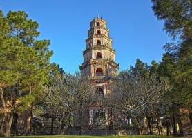 Pagode de la Dame céleste: la plus haute du Vietnam