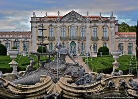 Palais royal de Queluz: un imposant édifice rococo