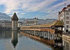 Pont de Lucerne: le précieux vestige suisse