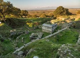 Site archéologique de Troie: une incarnation de l'antiquité