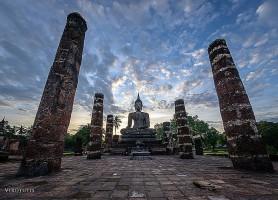 Sukhothaï : l'impressionnant temple thaïlandais