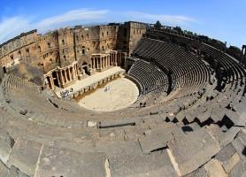 Théâtre antique de Bosra : un théâtre datant du IIe siècle