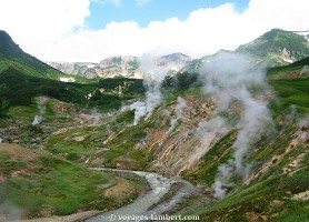 Vallée des geysers: une merveille indicible