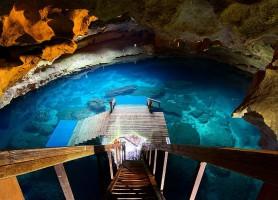 Devil's Den cave : la grotte «endiablée»