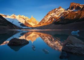 Laguna Torre:eaux, glaciers, monts et plaisirs!