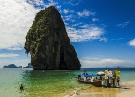 Plage de Phra Nang : une plage exceptionnelle