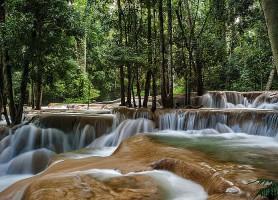 Chutes de Tad Sae: l'époustouflante cascade du Mékong