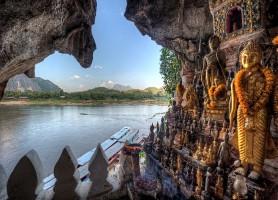 Grotte de Pak Ou: un temple dans les cavernes