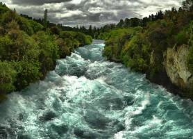 Huka Falls: les fascinantes chutes néo-zélandaises