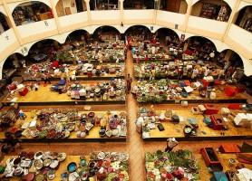 Marché de Kota Bharu: l'arc-en-ciel de la Malaisie