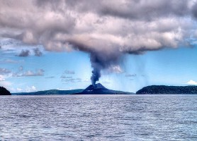 Krakatoa: la précieuse île de l'océan Indien