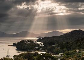 Île Stewart: la scintillante île du pacifique