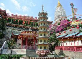 Temple de Kek Lok Si: le temple de la béatitude suprême