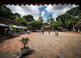 Temple de la littérature: l'académie de Confucius